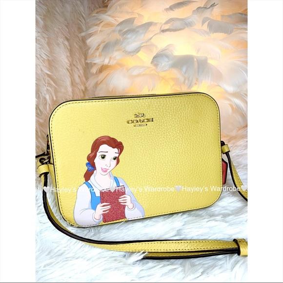 Coach Disney Belle Crossbody Camera Bag